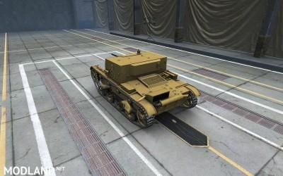 Girls und Panzer Anzio skin for AT-1 4 [1.2.0], 3 photo